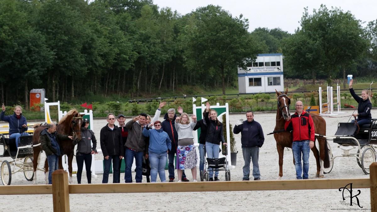 Tuigpaarden na 15 jaar terug in Exloo met veelzijdig programma