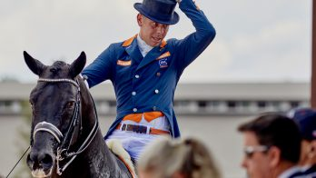 Hans Peter Minderhoud derde in wereldbeker Londen