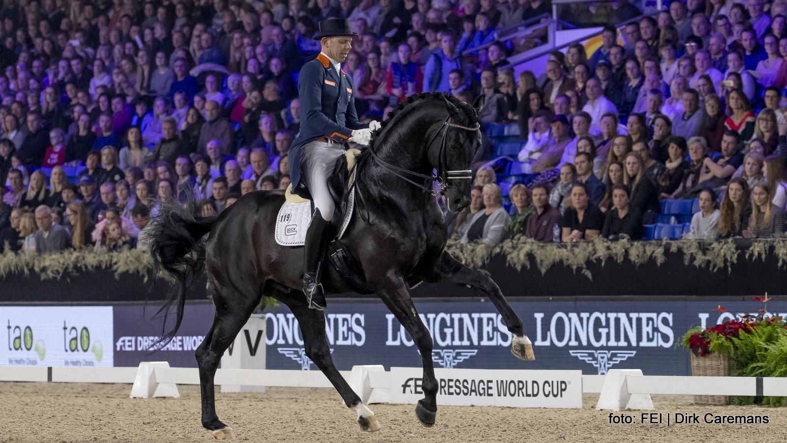 Knappe zege Hans Peter Minderhoud in wereldbeker Mechelen