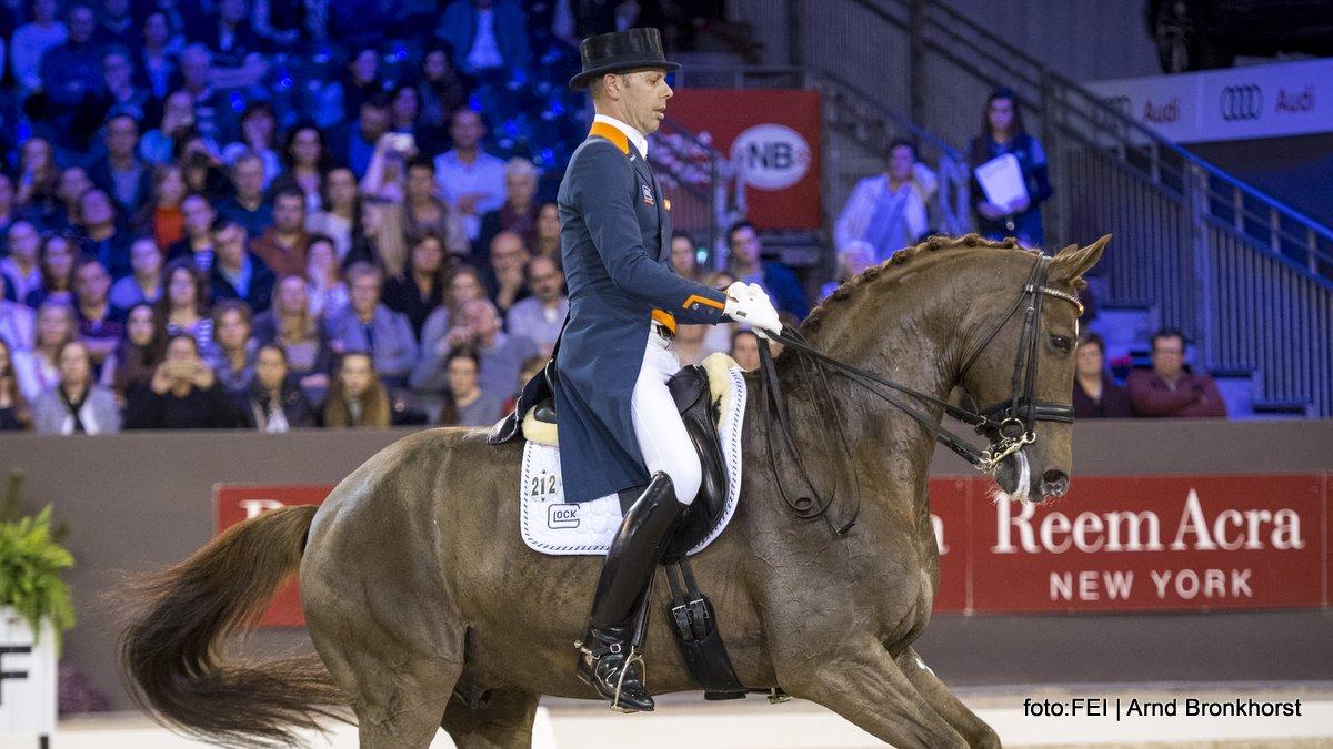 Wereldbeker Indoor Brabant voor Hans Peter Minderhoud en Glock's Flirt