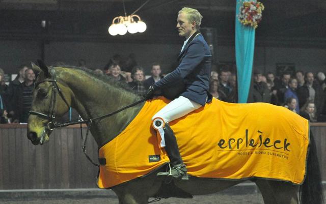 Indoor Tolbert: Hans de Vries wint zware finale