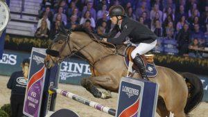Harrie Smolders met Zinius derde in wereldbeker Leipzig