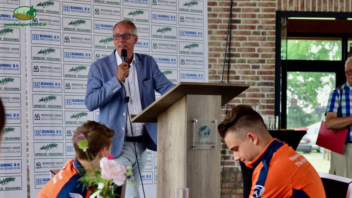 Christiaan Hendriksen EK-springen De Wolden