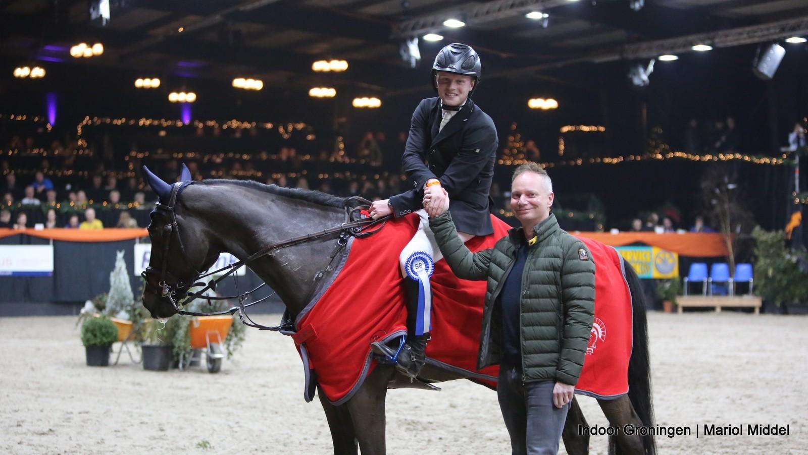 Hessel Hoekstra domineert Z- en ZZ-finale Indoor Groningen