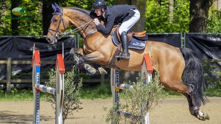 Hessel Hoekstra tevreden met tweede plaats op DYF Wierden