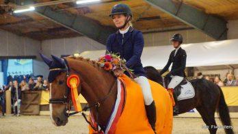Hester Klompmaker de beste op Hippos Concours Appingedam