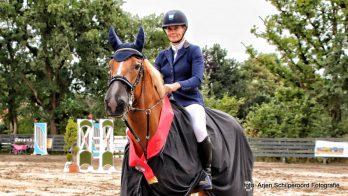Grote Prijs CH Bergum voor Hester Klompmaker en Guessina