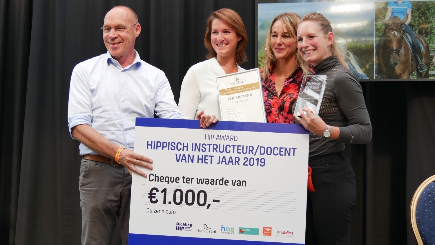 Wie wordt hippisch instructeur/docent van 2020?