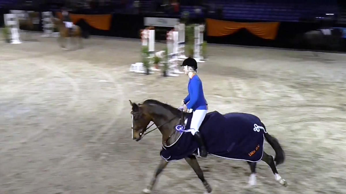 ZZ-finale Indoor Groningen voor Marriët Hoekstra en Wimphof's Hinde de la Vie