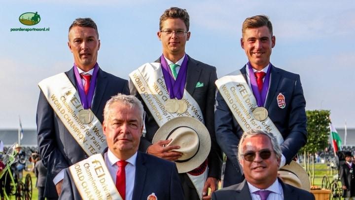 Hongaarse menners opnieuw wereldkampioen, brons voor Nederland