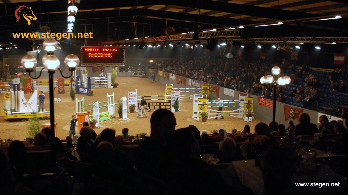 De piste van Indoor Groningen in Zuidbroek. foto: Steven Stegen