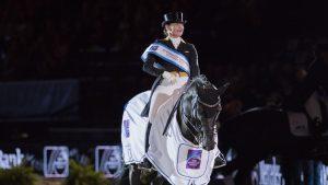 Isabell Werth domineert dressuur bij German Masters