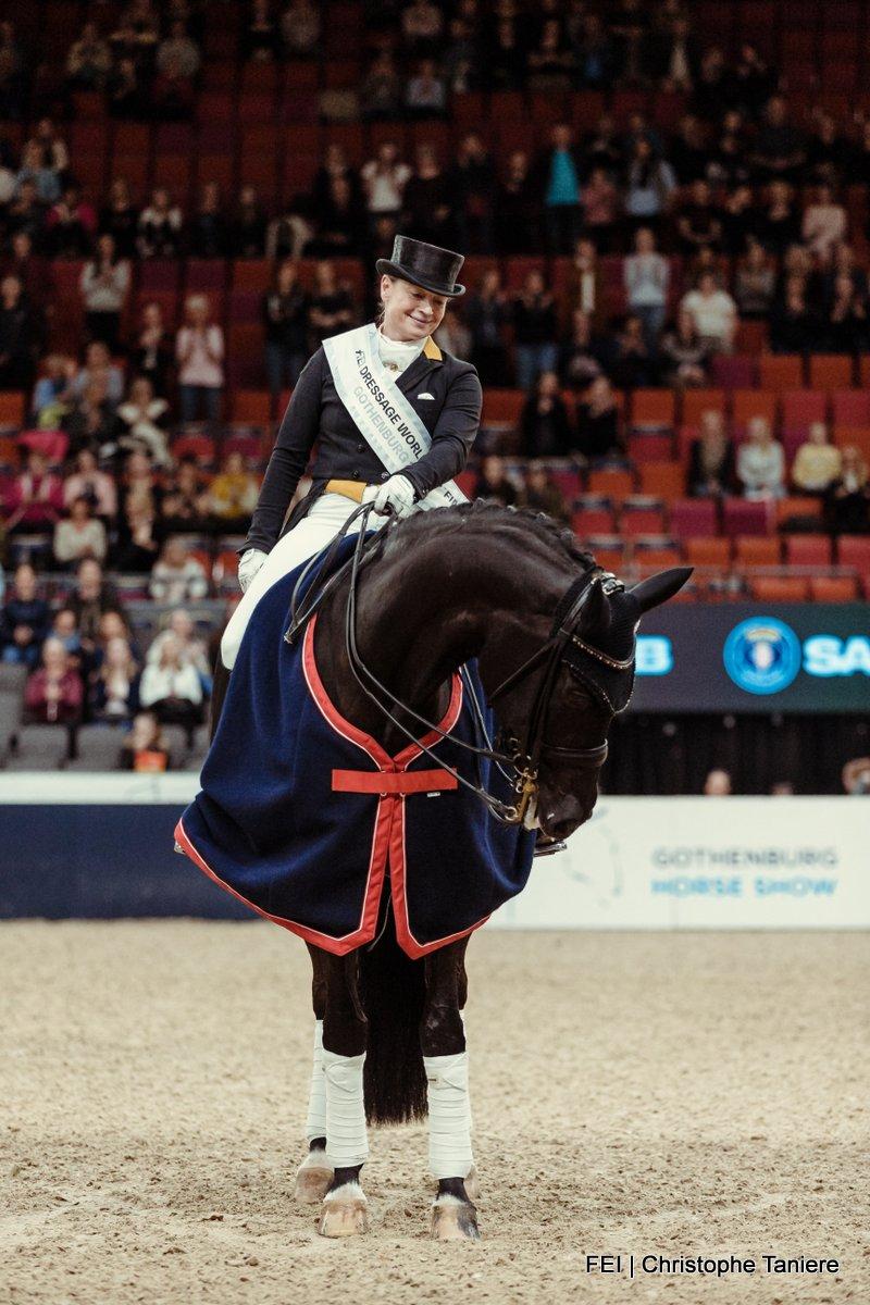 Isabell Werth Weihegold finale wereldbeker G|oteborg 2019