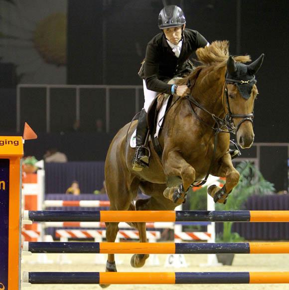 James Robert Billigton won twee finales. Met Doklahoma VDL was hij de beste in de klasse M. ©Roos Meertens