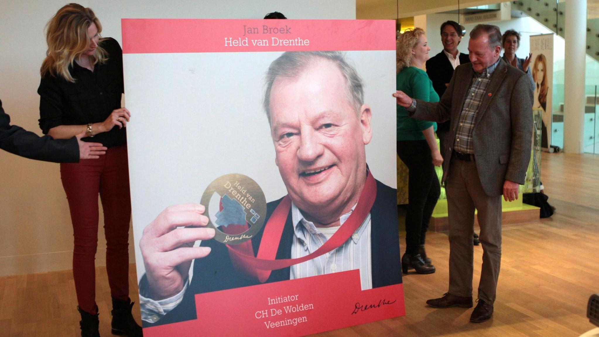 Jan Broek van CH De Wolden 'Held van Drenthe'