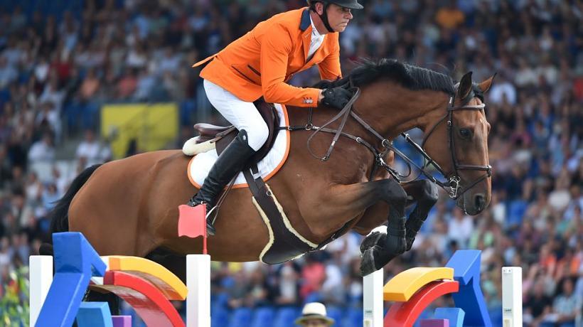 Springpaard Zenith neemt afscheid: 'hij is een genie'