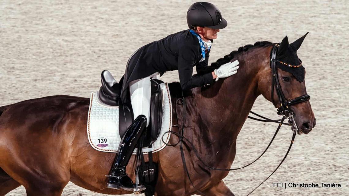 Jessica von Bredow-Werndl Olympisch kampioen in de kür