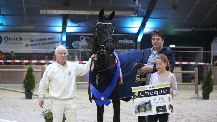 Jillz (Everdale x Florencio) werd algemeen kampioen tijdens het ONNK.