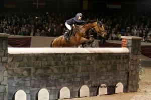 Jody van Gerwen overwint de muur met Acord. ©Mariol Middel