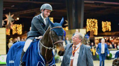 Gedurfde rit brengt Jonathan Gordon overwinning op Indoor Groningen
