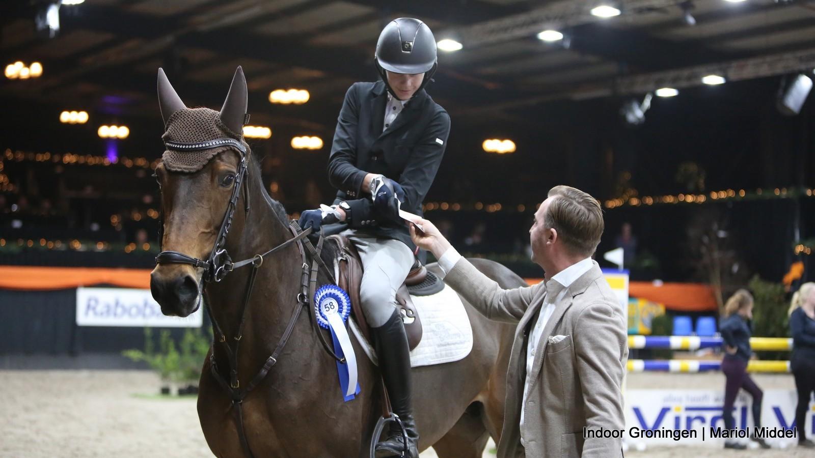 Jordi Koopmans de beste in L-finale Indoor Groningen