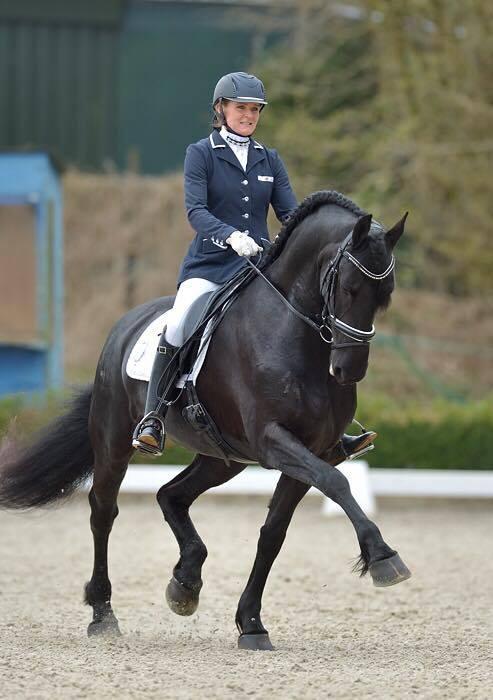 Joyce Haaijer zette met Horses2Fly Tialda de beste prestatie van de dag neer.