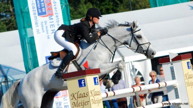 Judith Vetker won met Espoir de finale van Indoor Klein Oever in Balkbrug (archieffoto).