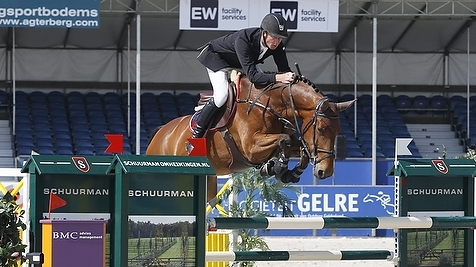 Jur Vrieling tweede in Grote Prijs Jumping Lummen