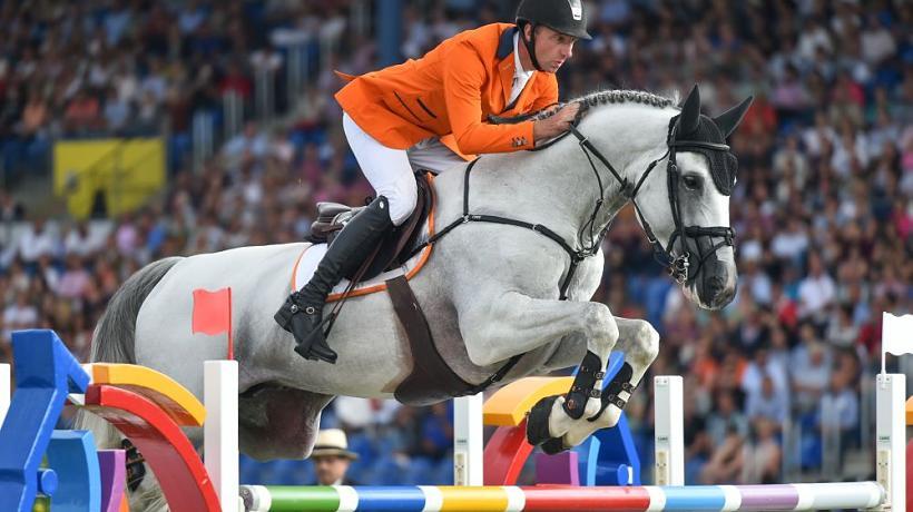 Nederlandse springruiters Europees kampioen in zenuwslopende finale