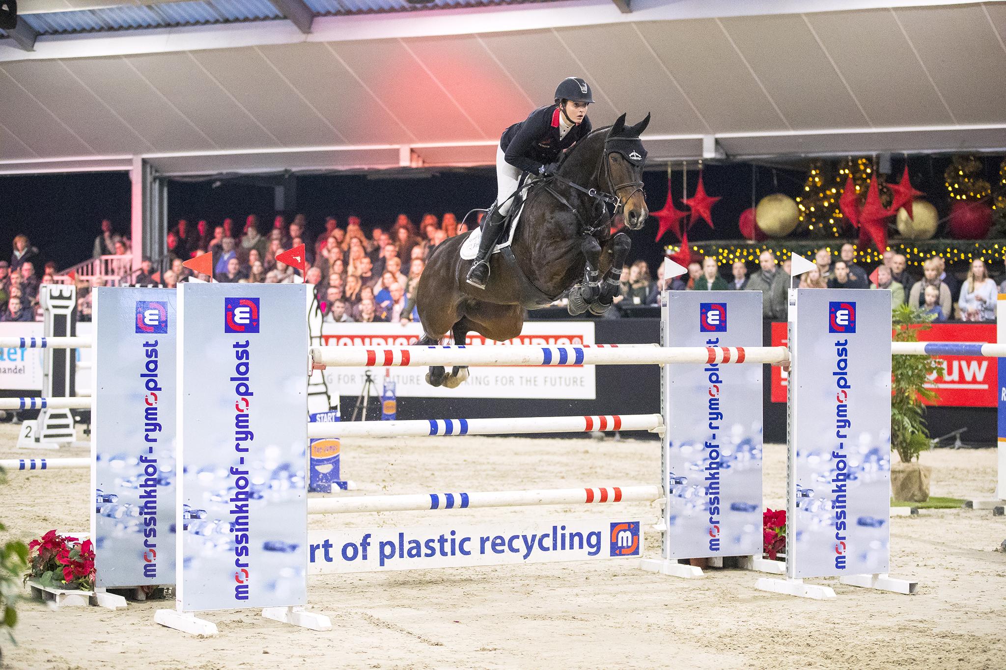 Clarissa Brinkop de beste in Grote Prijs Jumping De Achterhoek