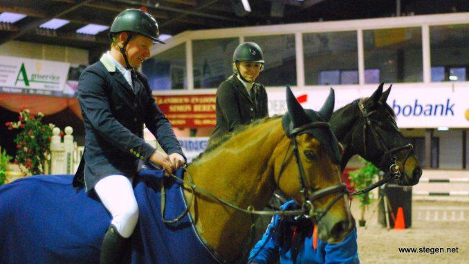 Prijswinnaars in de klasse L, Sander Naber en Margot Norder.