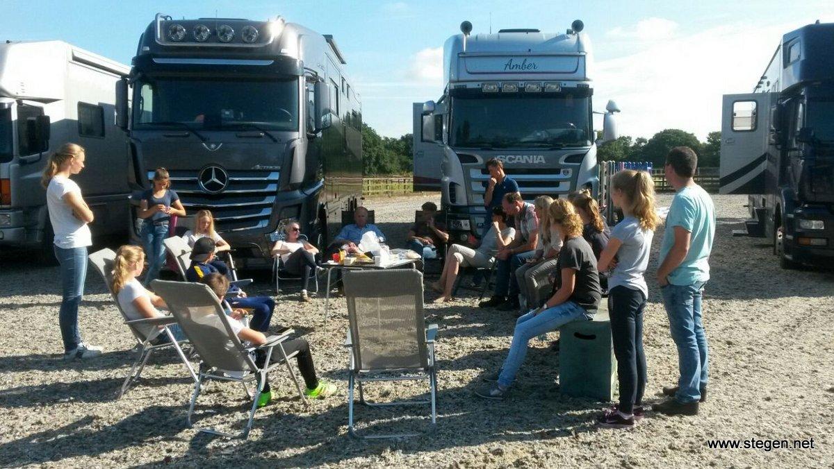 Lysanne Kruizinga op weg naar EK Millstreet: 'de reis verloopt voorspoedig'