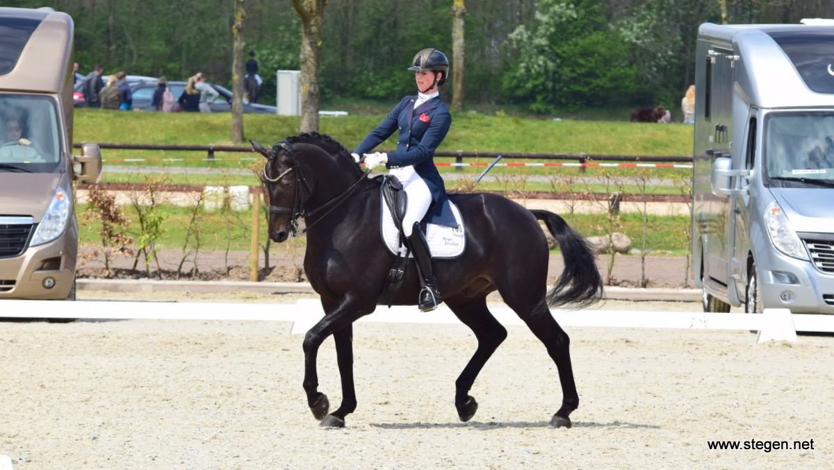 Subtop Exloo. Laura Zwart won met Horses2Fly Zandokan Smh de Grand Prix in Exloo.