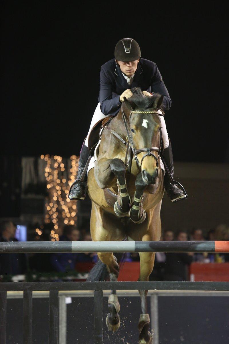 Lennard de Boer won met Ewinita de ZZ-finale bij Indoor Groningen.