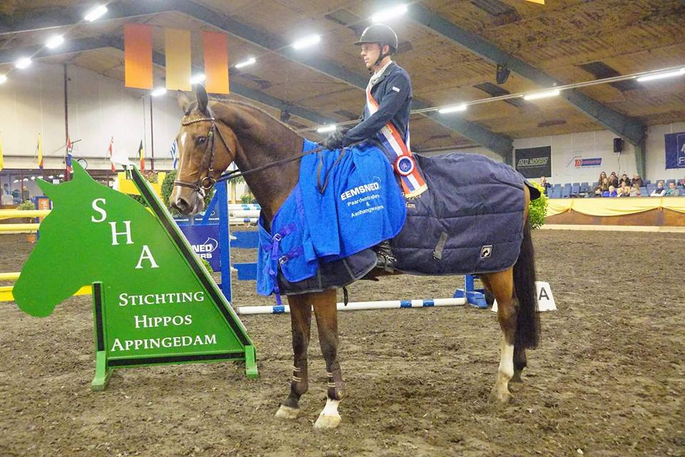 Lennard de Boer domineert finale Hippos Concours Appingedam