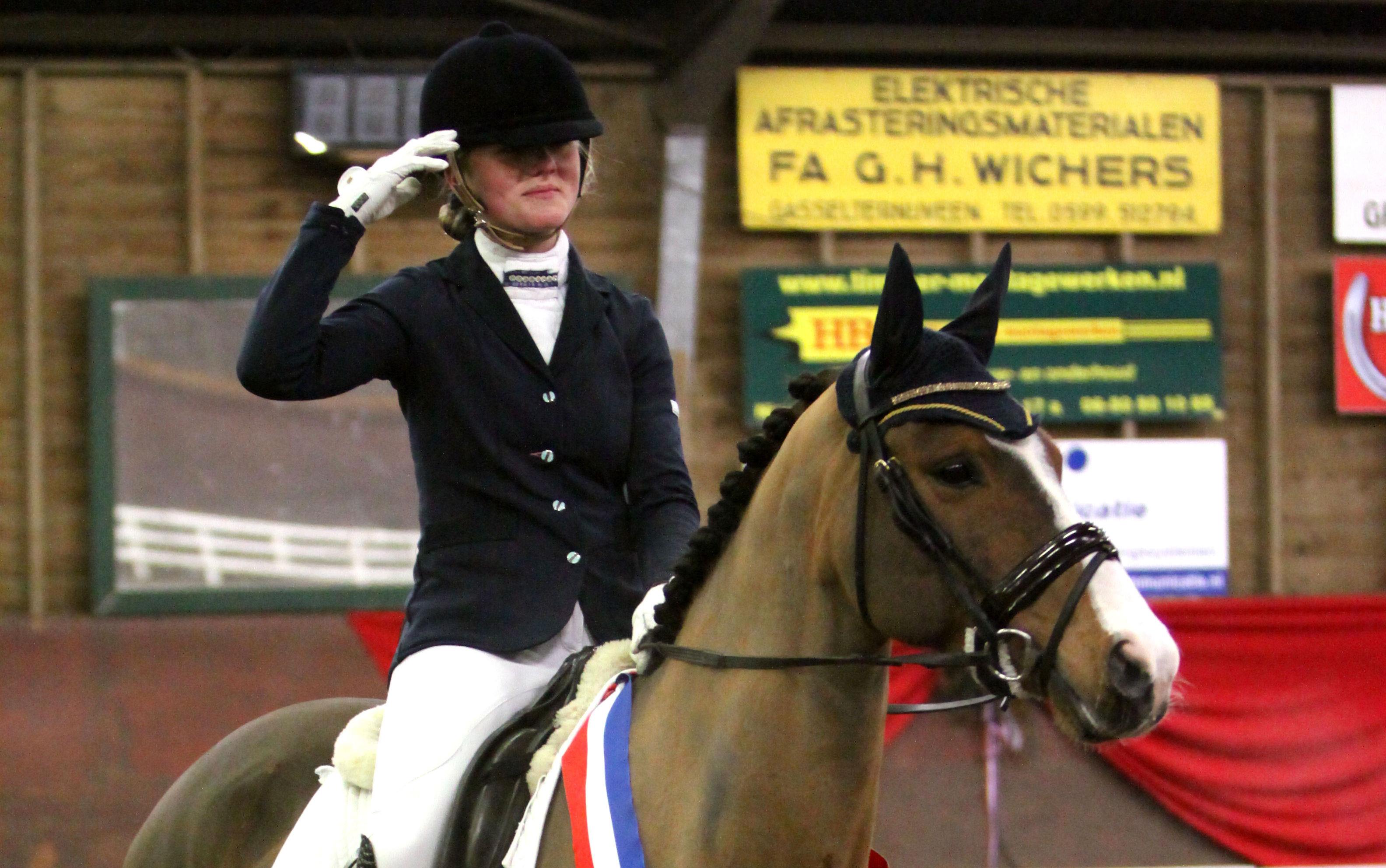 Spannend slot bij Drents ponykampioenschap