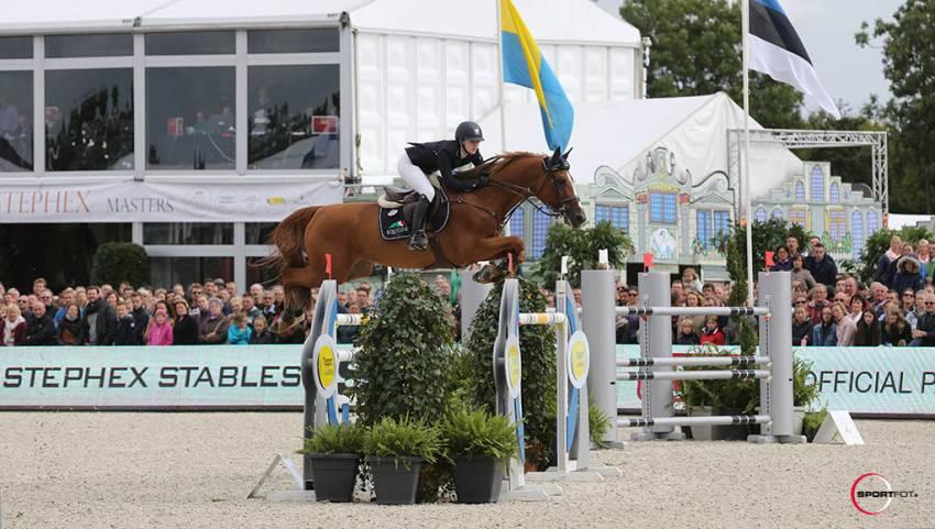 Lucy Davis en Barron winnaars in spannende Masters Brussel