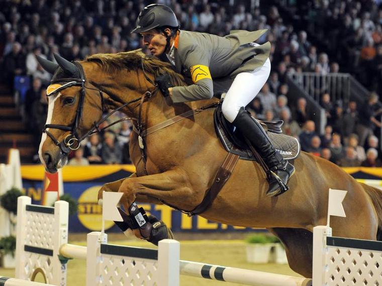 Ludger Beerbaum wint zware WB Stuttgart