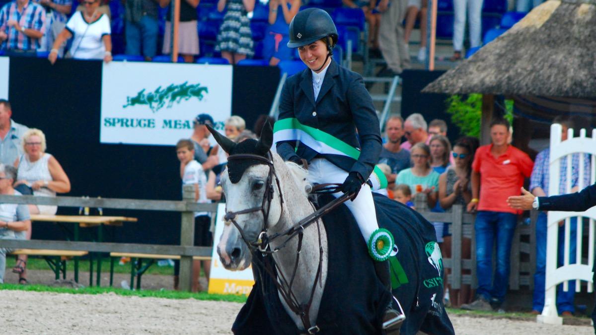 Madison Goetzmann (16) jongste winnaar ooit op CH De Wolden