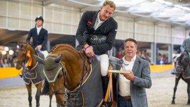 Marc Houtzager in concourskrant CSI Salland: 'topsport moeilijk voor vrouwen'