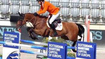 Nederlandse springruiters kunnen geen stap maken op EK Rotterdam