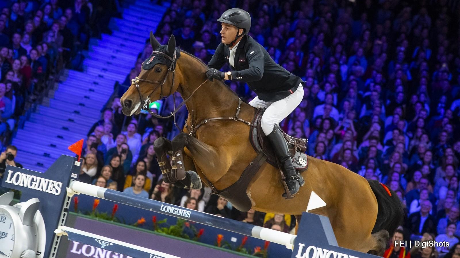 Marc Houtzager gedroomde winnaar wereldbeker Jumping Amsterdam