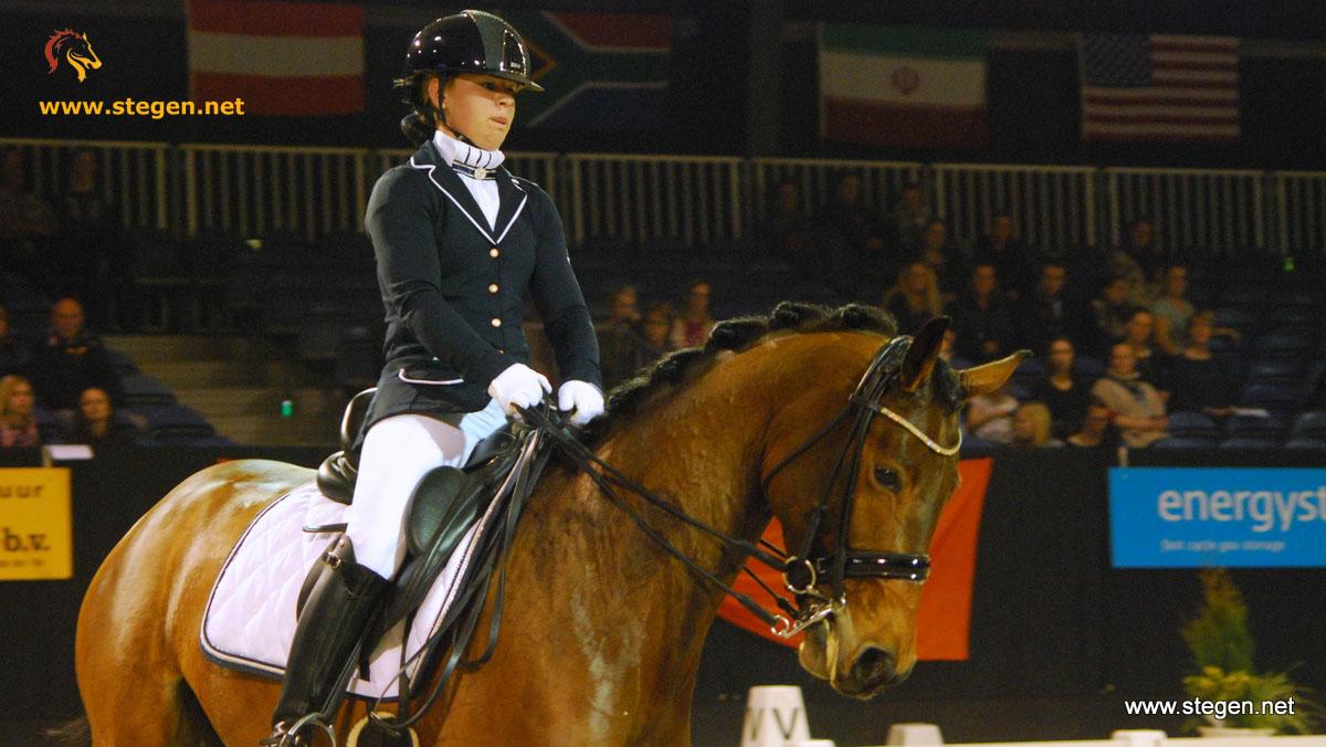 Marissa Spoor knalt tijdens Indoor Groningen: 'dit succes had ik niet verwacht'