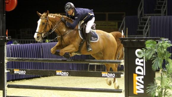 Marleen Schütte rijdt Follow Me naar de overwinning in de klasse Z. ©Roos Meertens