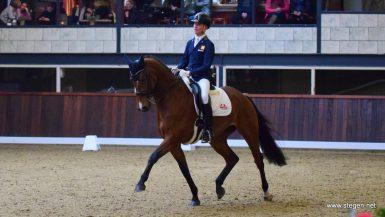 Marten Luiten en Fynona nu al favoriet voor eindzege bij Indoor Groningen
