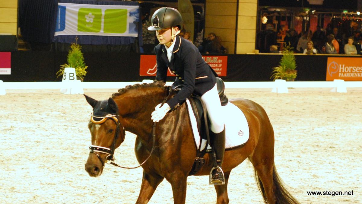 Marten Luiten geplaatst voor EK-dressuur pony's in Hongarije