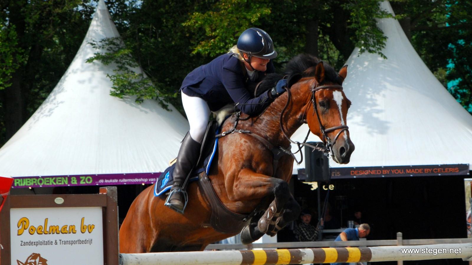 Mooie start voor Martine Gramsbergen bij Indoor Wierden