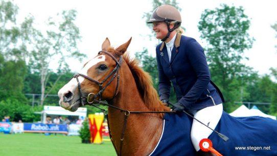 Martine Gramsbergen won met Zippit drie rubrieken tijdens het CH Westerkwartier.