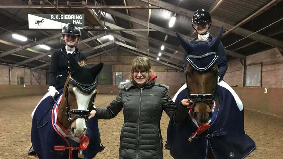 Renske Groen Drents kampioen Z1 bij de pony's