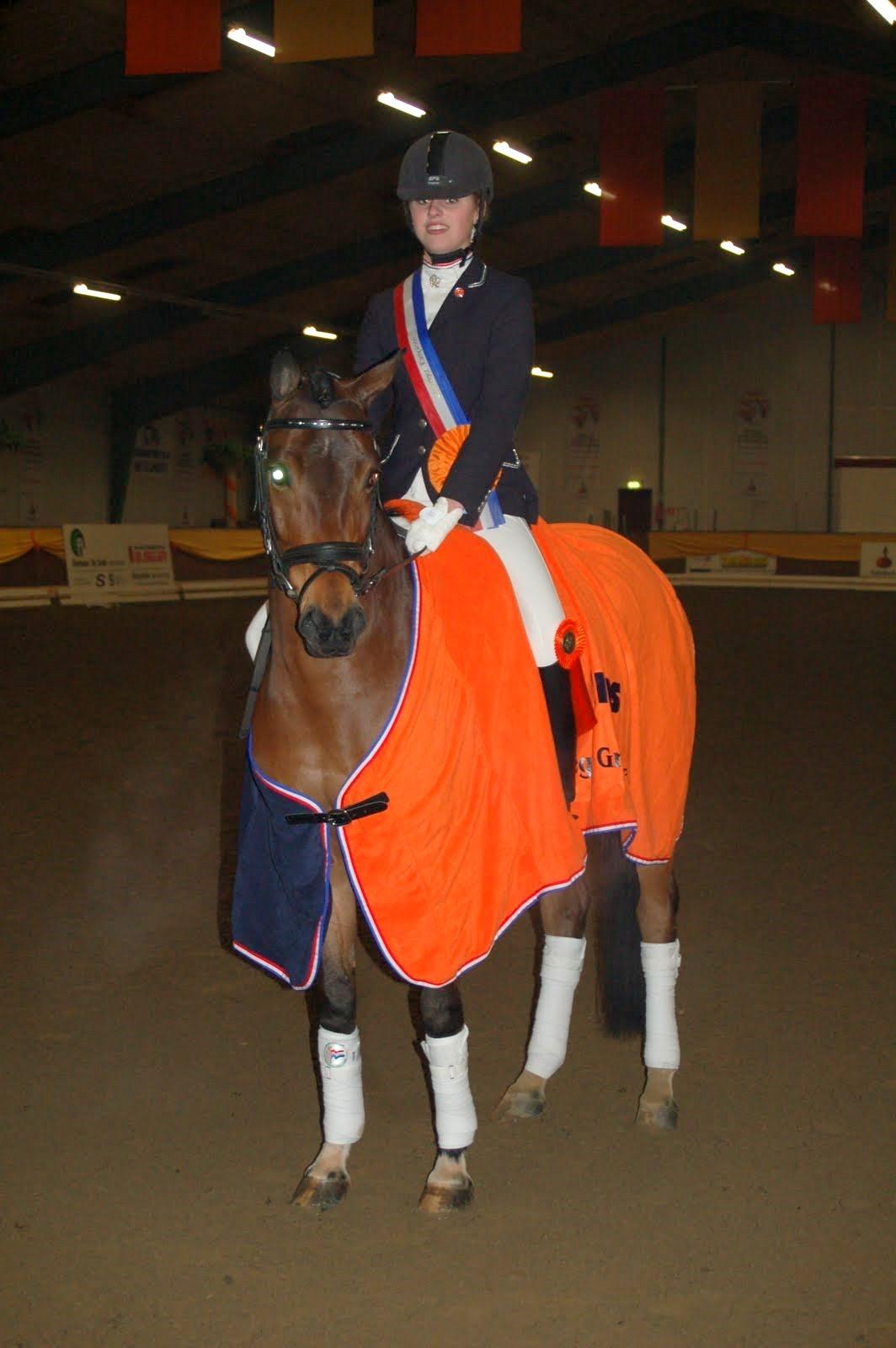 Michelle de Jonge KNHS-kampioen pony's